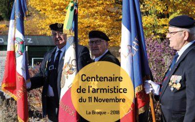 Centenaire de l'armistice du 11 novembre